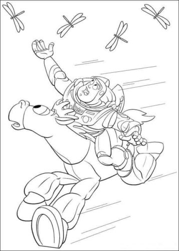 Toy Story Film Coloring Pages Printable