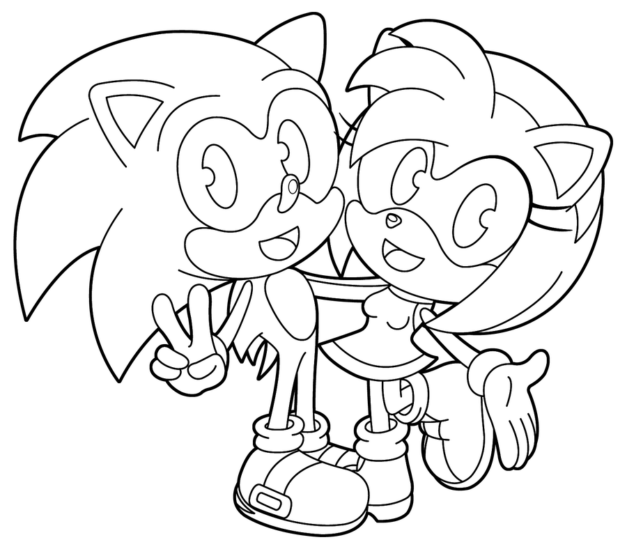30 Free Sonic The Hedgehog Coloring Pages Printable