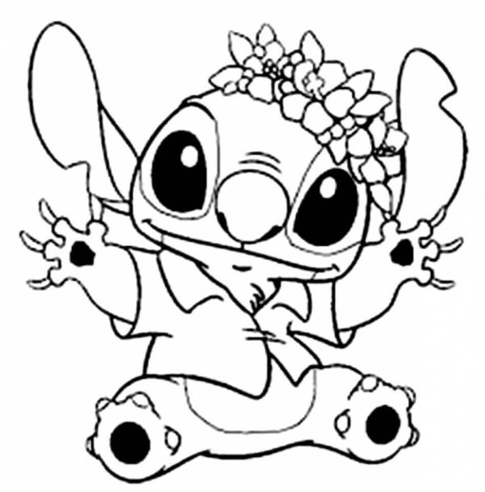 20 Free Stitch Coloring Pages Printable