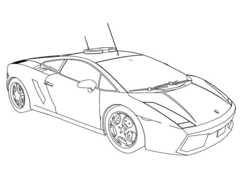Lamborghini Veneno Coloring Pages | Chainimage | 353x500
