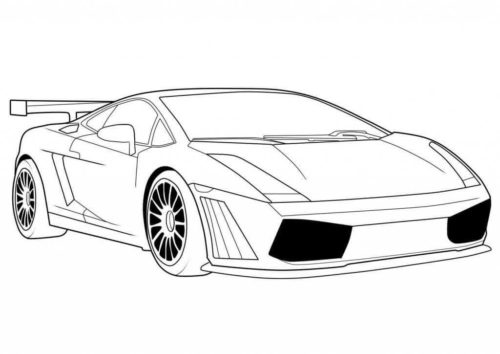 Lamborghini Coloring Pictures To Print