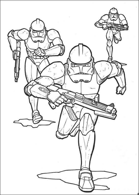 Storm Troopers coloring page