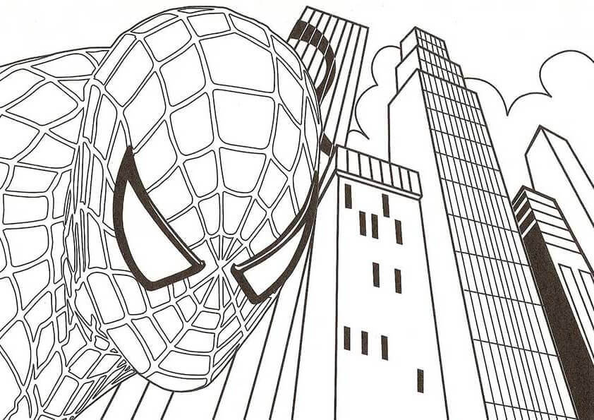 Free Printable Spider Man Coloring Pages