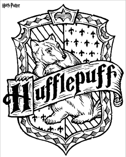 Harry Potter coloring sheets to print