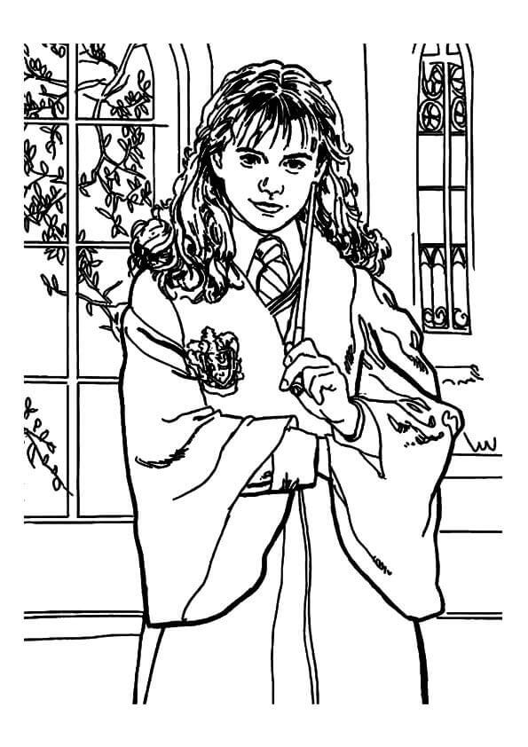 30 Free Harry Potter Coloring Pages Printable