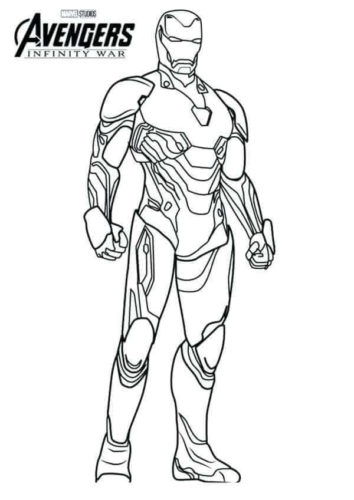 25 Free Iron Man Coloring Pages Printable