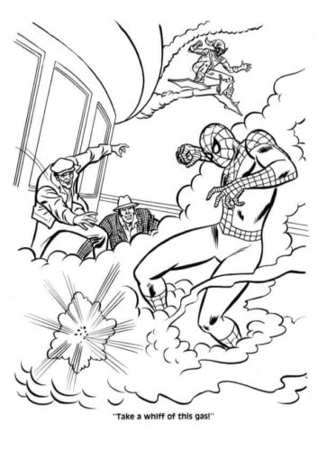 Spiderman Coloring Sheets
