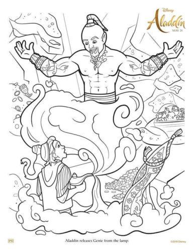 Aladdin Releases Genie