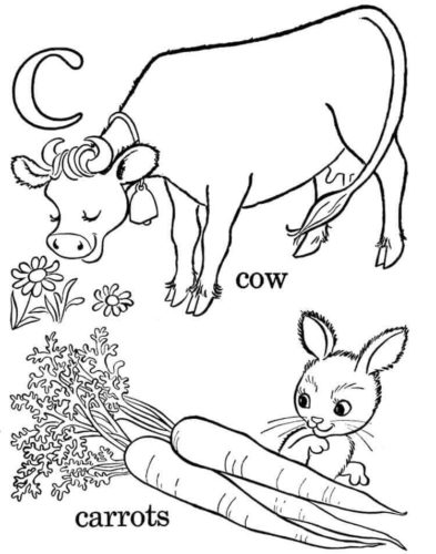 Cow Coloring Images To Print