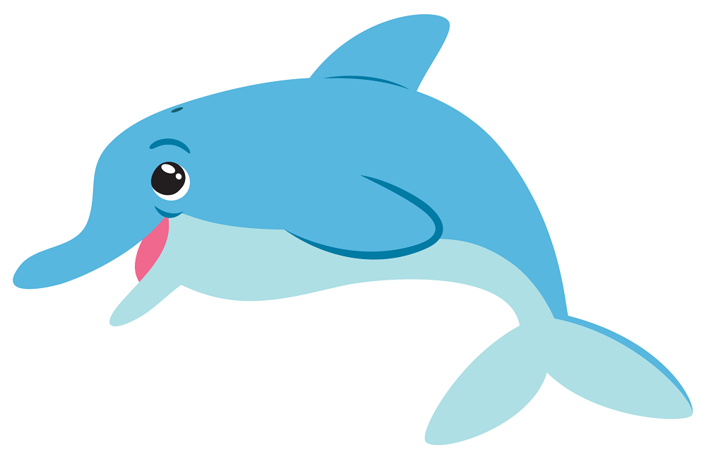 30 Free Dolphin Coloring Pages Printable