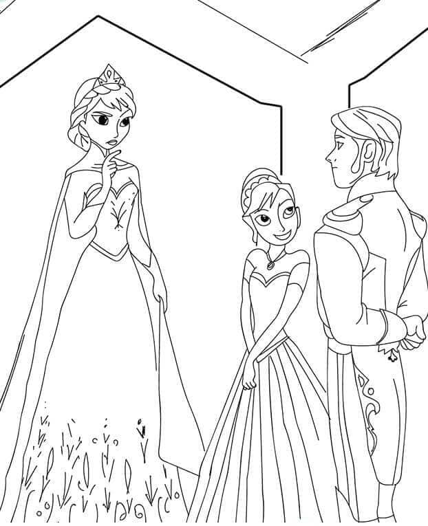 Elsa Disapproves Annas Marriage