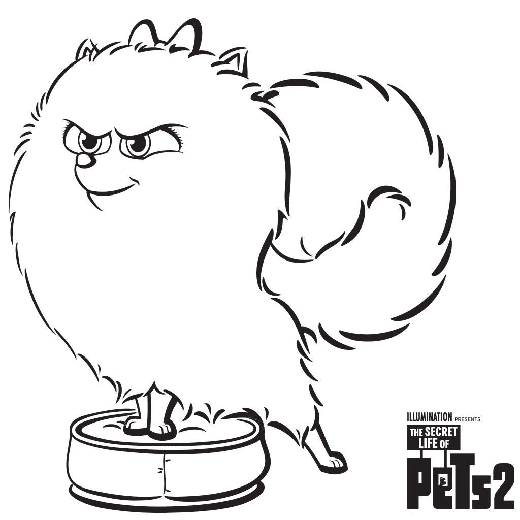Gidget From The Secret Life Of Pets 2