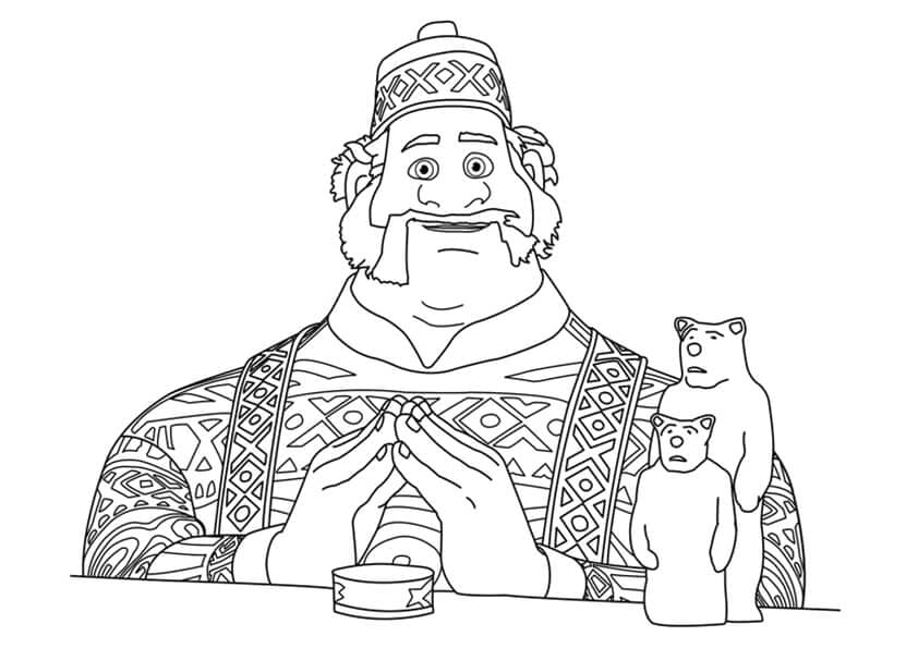 Oaken Coloring Page