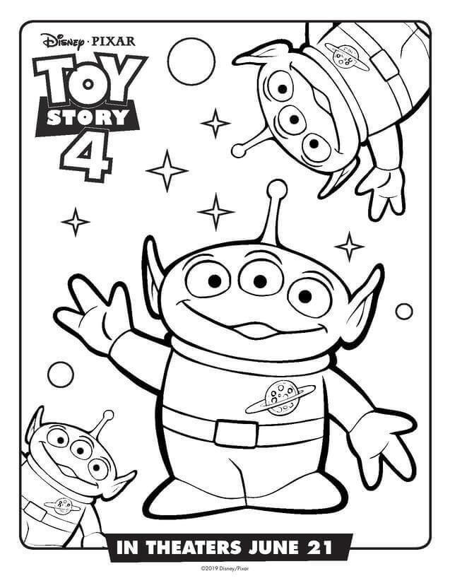 Toy Story 4 Aliens