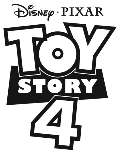 Toy Story 4 Logo Coloring Page