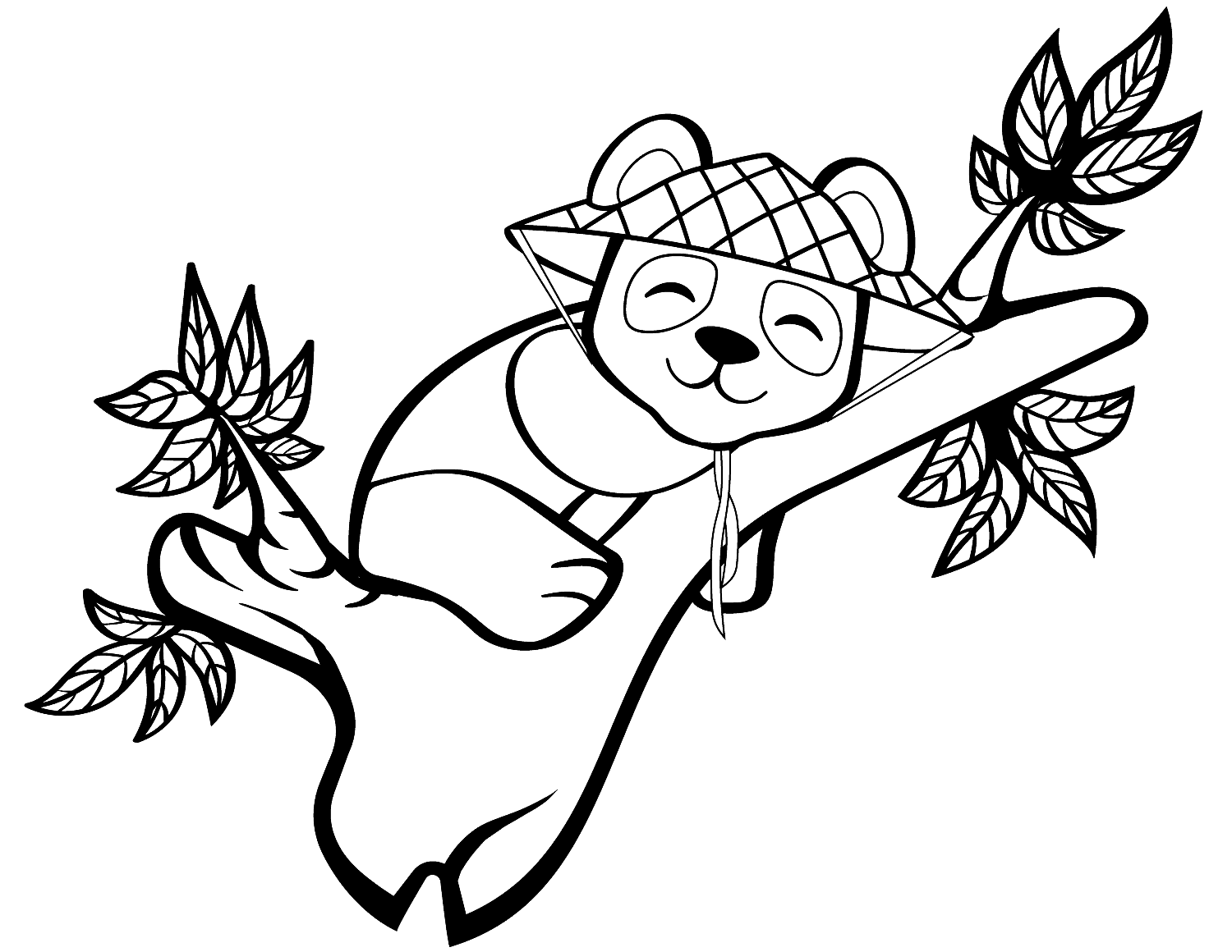 Coloring Pages Of Panda