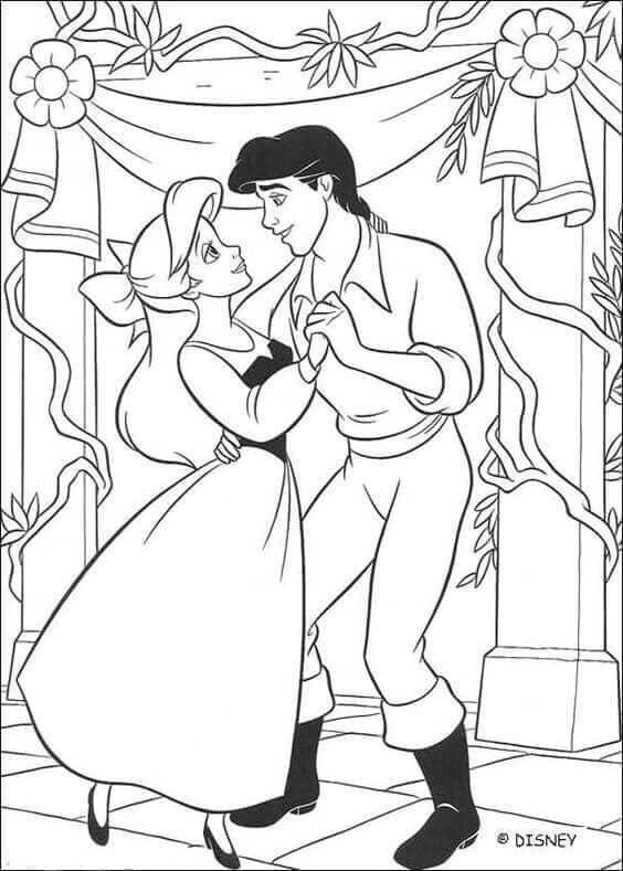 Eric And Ariel Dancing