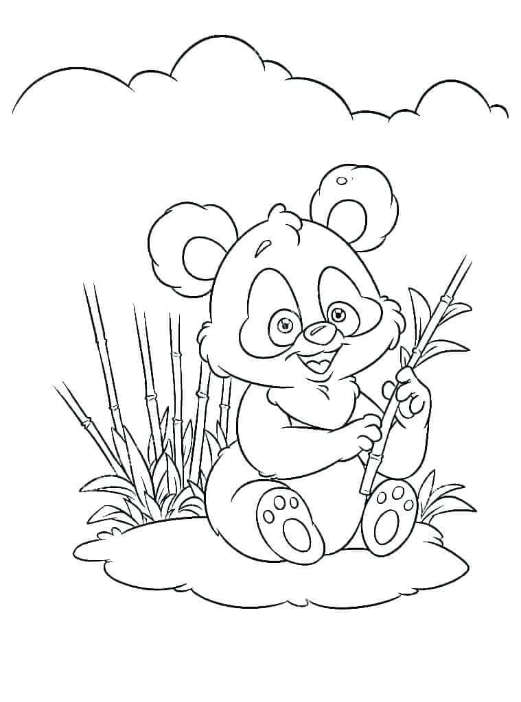Panda Coloring Sheets Printable