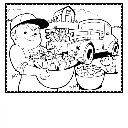 Farm Coloring Pages Printable