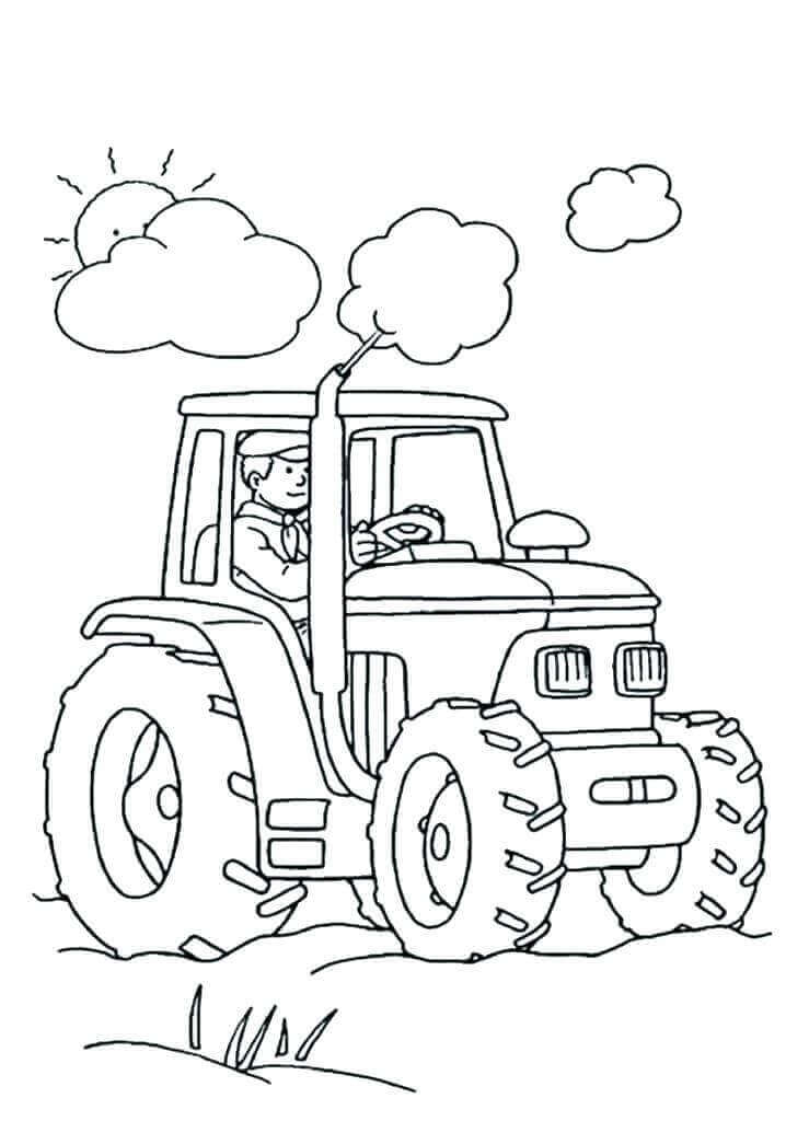 Farm Coloring Pictures To Print