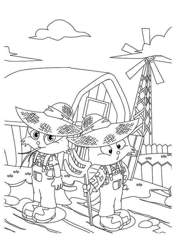Kitties At Farm