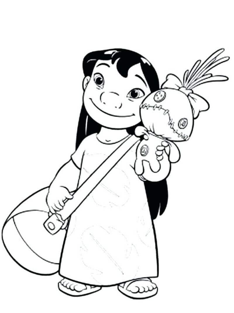 Lilo With Her Doll