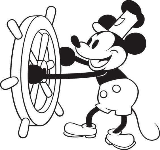 Mickey Mouse Images To Color