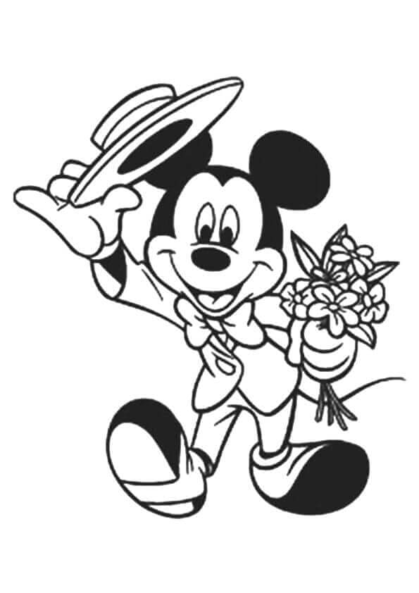 Mickey Mouse Suited Up