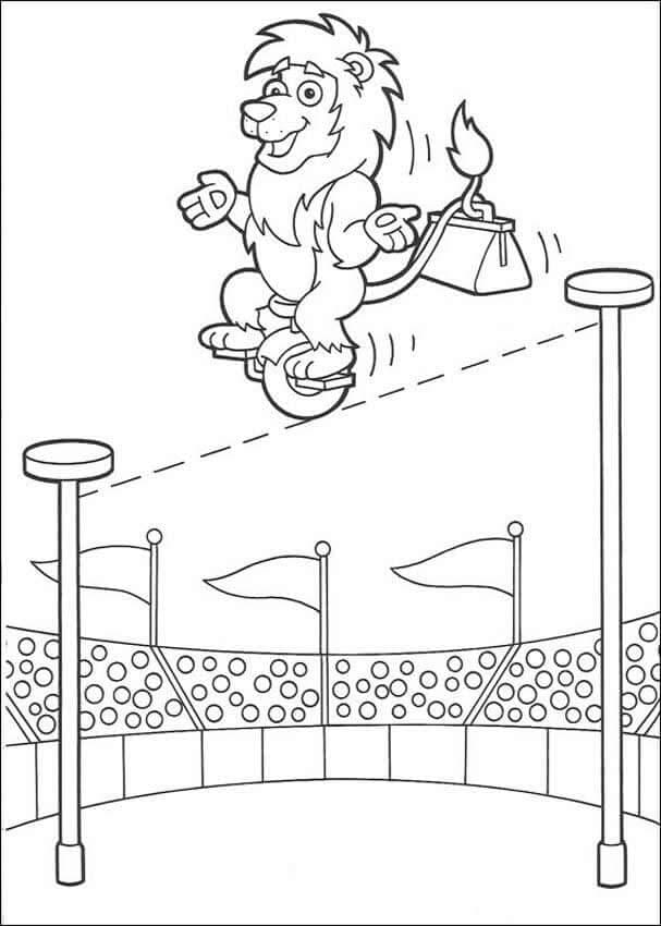Circus Coloring Pages To Print ScribbleFun