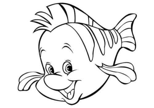 Flounder From Little Mermaid