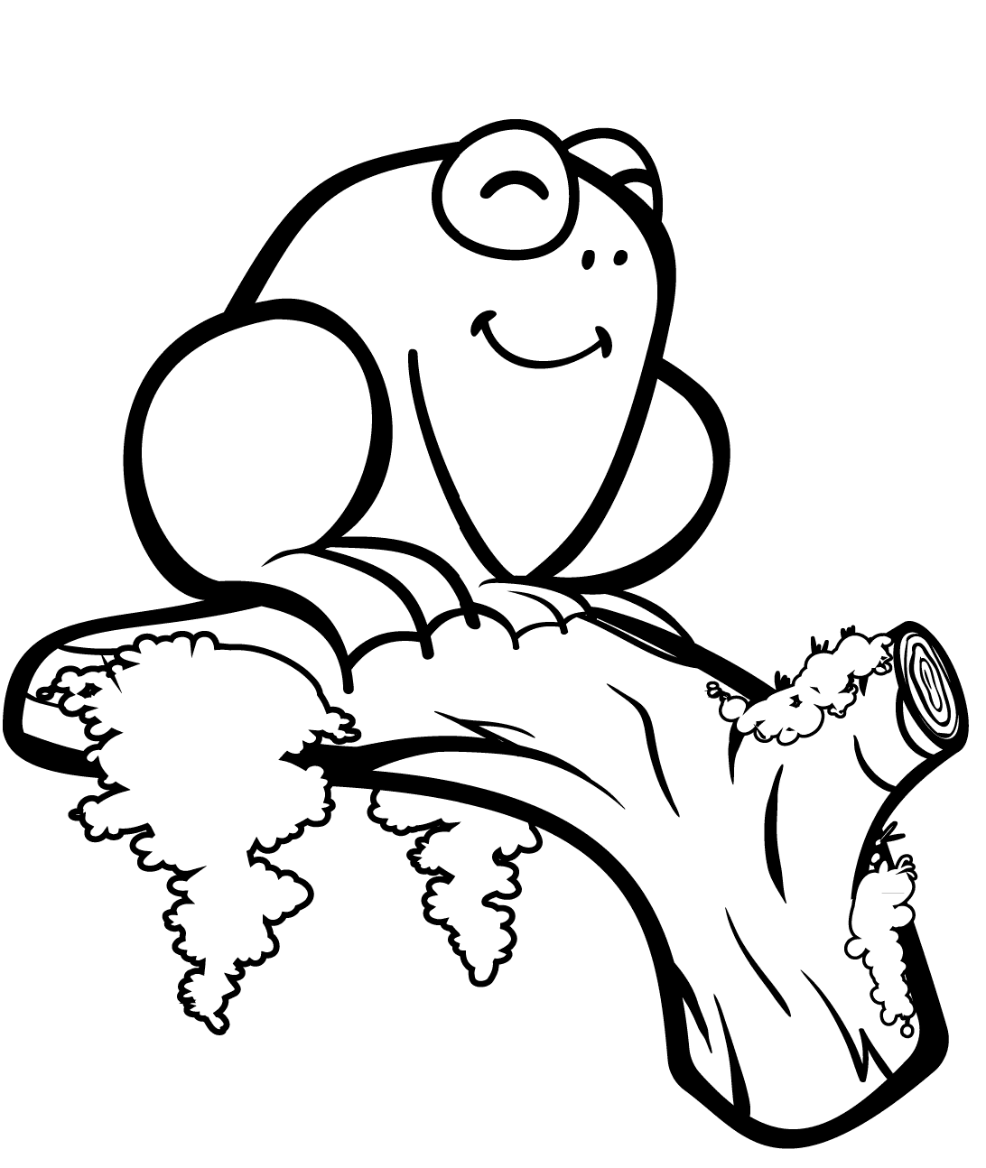 Frog Colouring Pages