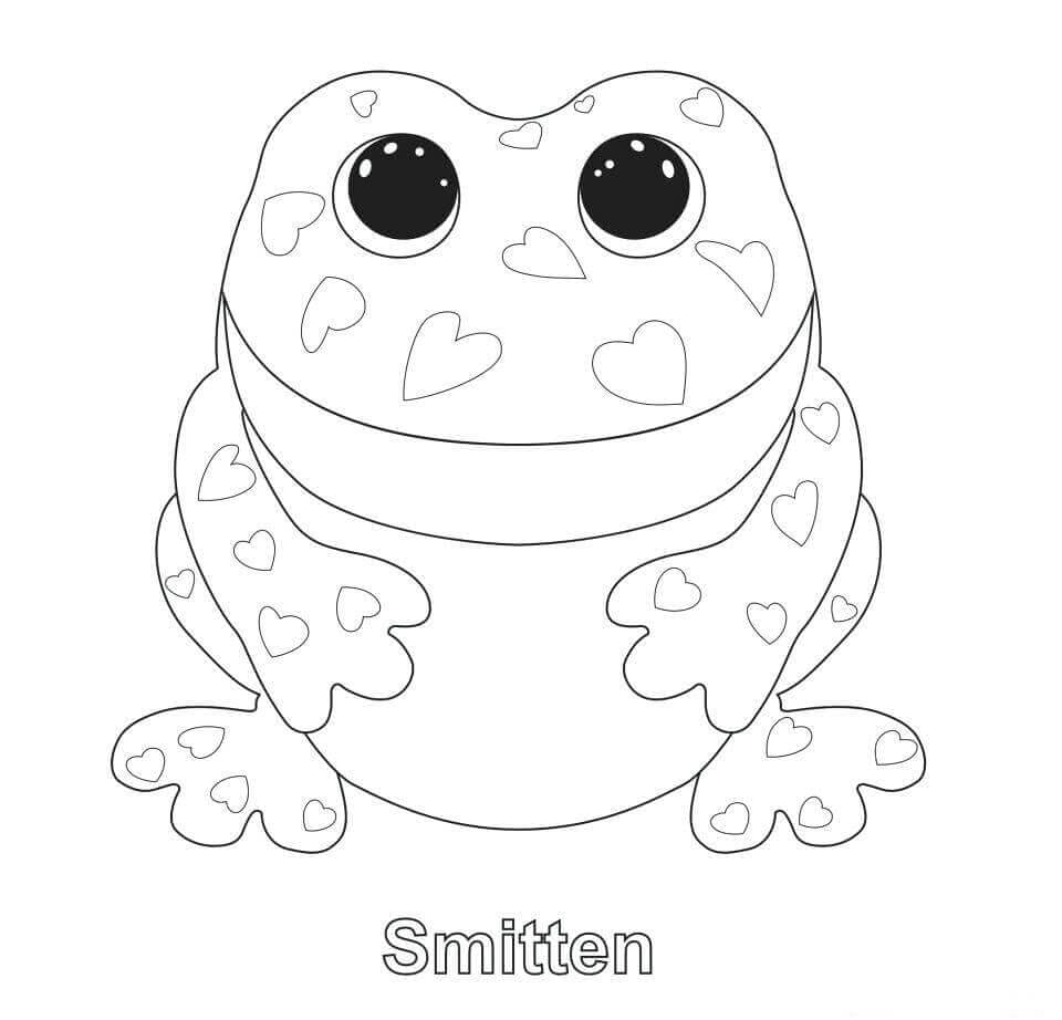 Smitten Frog From Beanie Boo