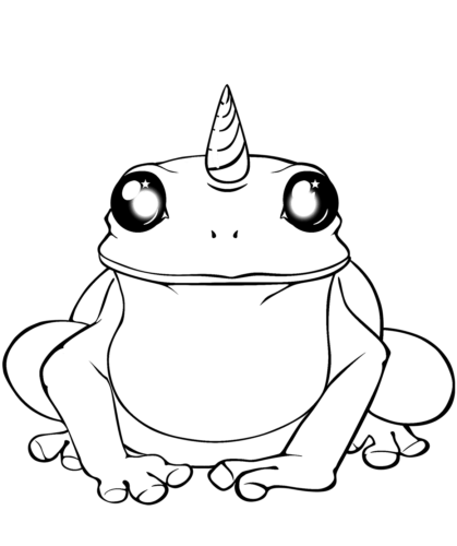 Unicorn Frog