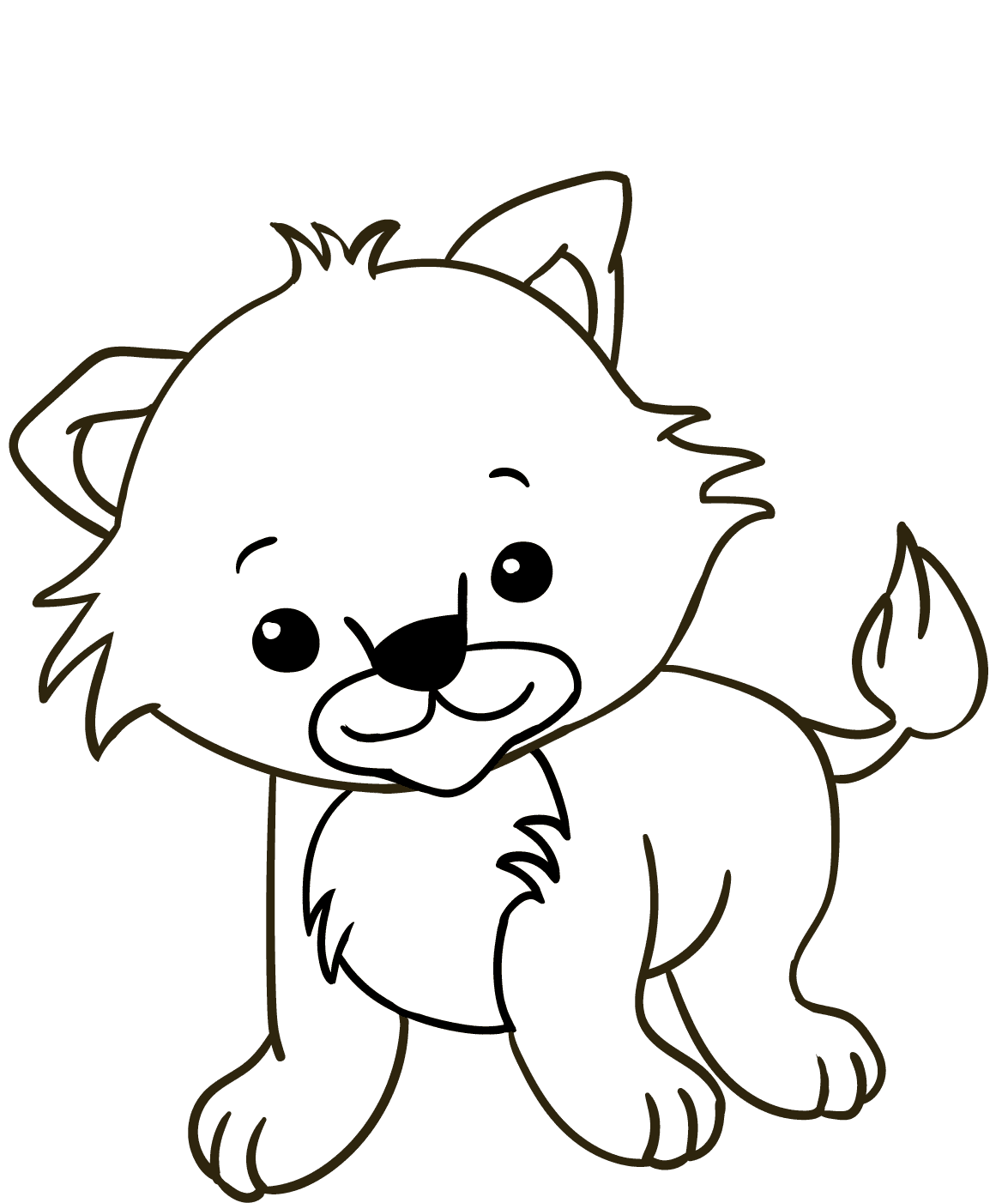 Baby Lion Cub Coloring Pages