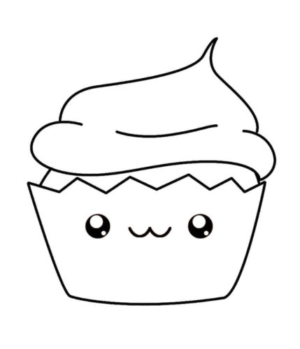 Cute Coloring Pages Of Food