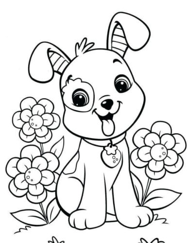 30 Free Cute Coloring Pages Printable