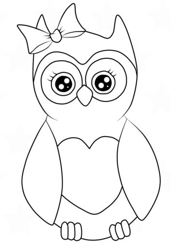 Cute Female Owl