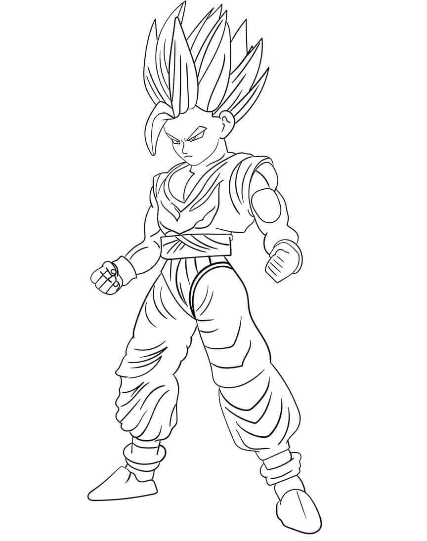 Gohan From Dragon Ball Z