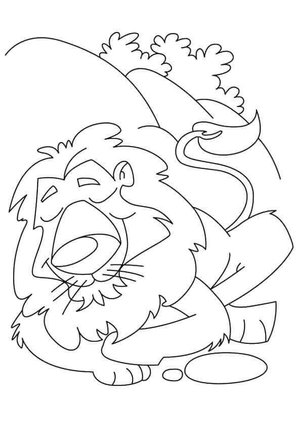 Lion Coloring Pages Printable ScribbleFun