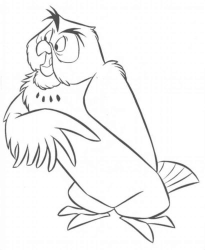 Owl From Winnie The Pooh