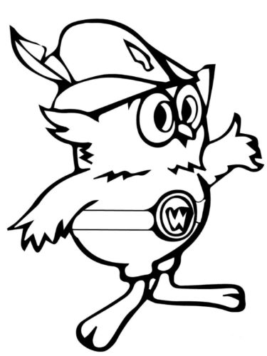 Woodsy Owl Coloring Page