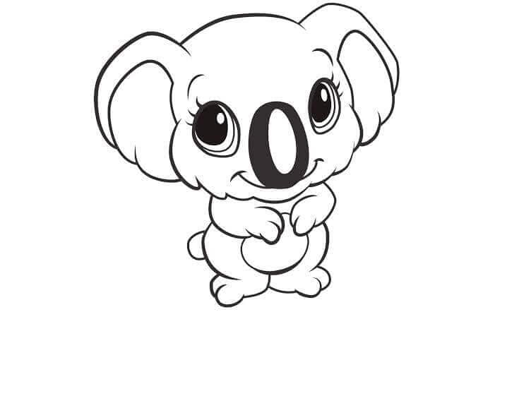 Cute Animal Coloring Pictures To Print