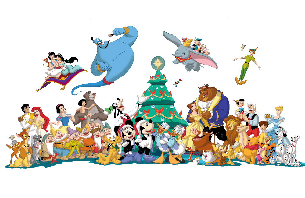 - 35 Free Disney Christmas Coloring Pages Printable