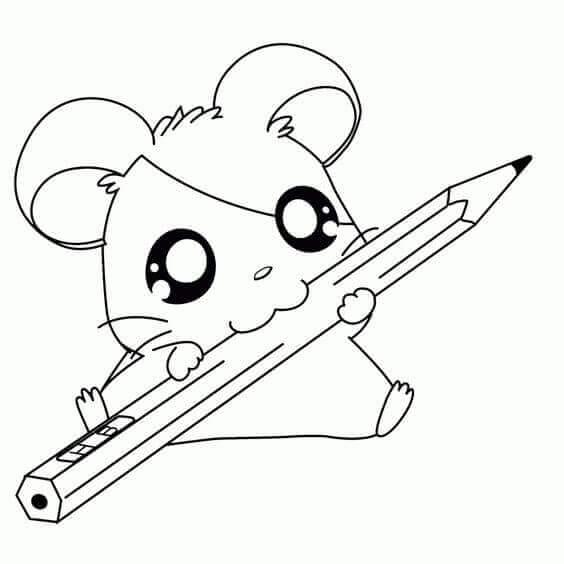 Panda Chewing Pencil