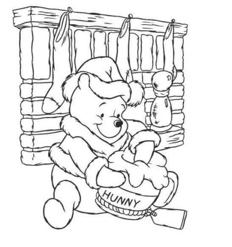 Pooh With Honey