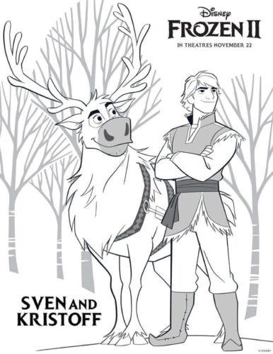 Sven and Kristoff Frozen 2