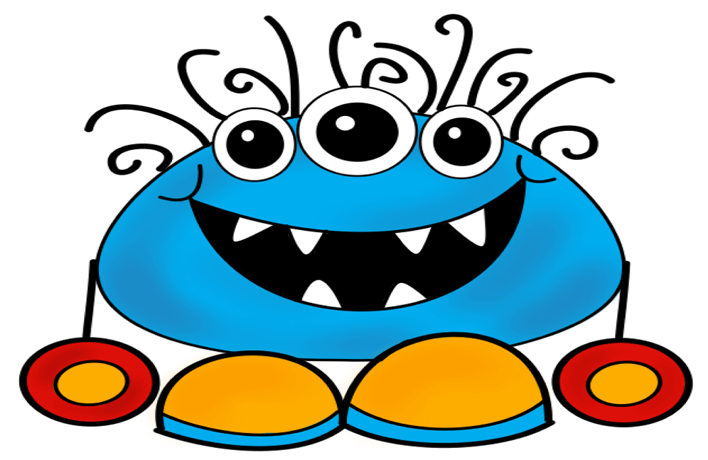 Cute Monster Coloring Pages - Coloring Home | 650x1000