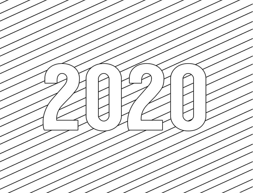 2020 Coloring Pages