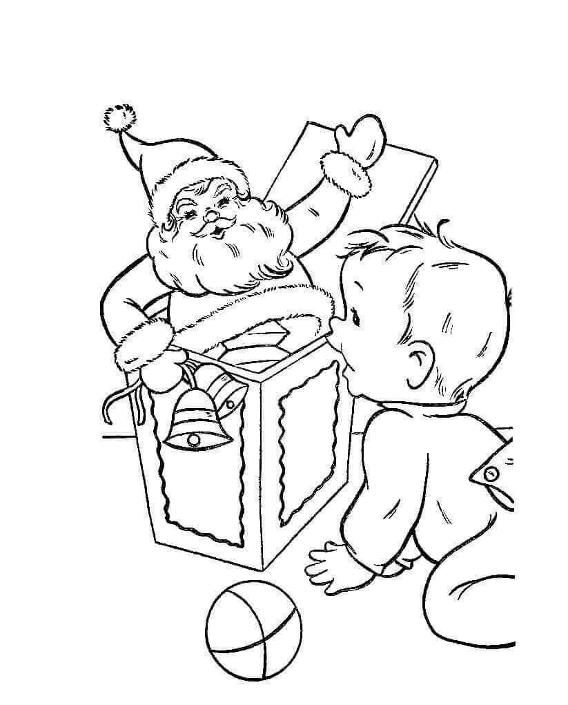 Christmas Presents Coloring Sheets