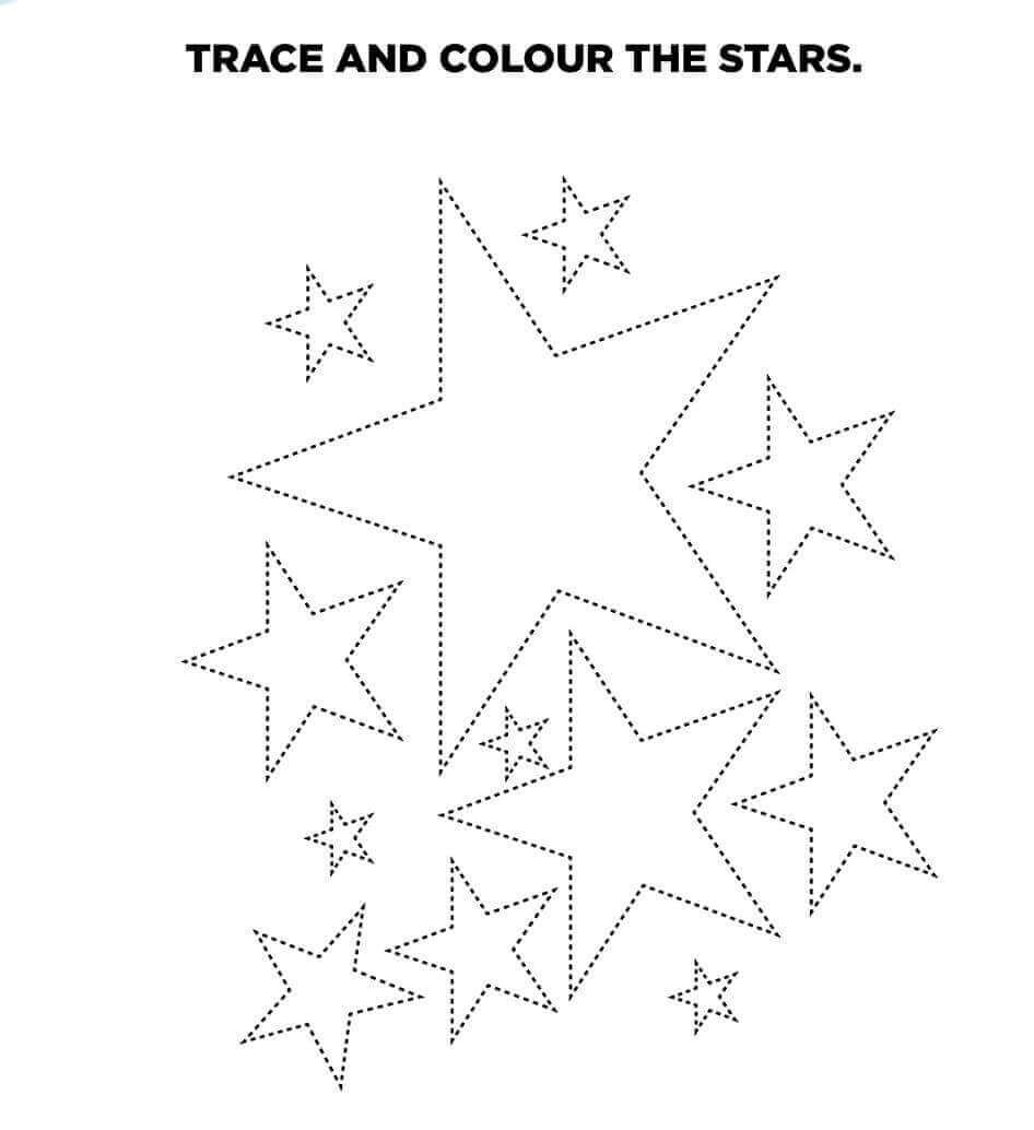 Stars Activity Sheet Printable
